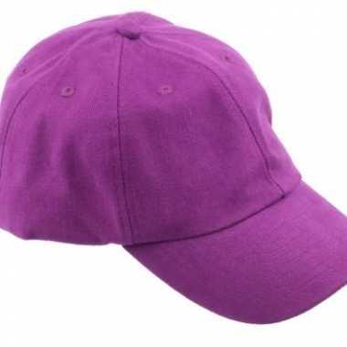 Feest voordelige baseballcaps paars