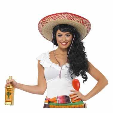 Feest voordelige mexico verkleedset voor dames