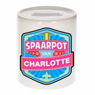 Feest vrolijke charlotte spaarpotten voor kinderen
