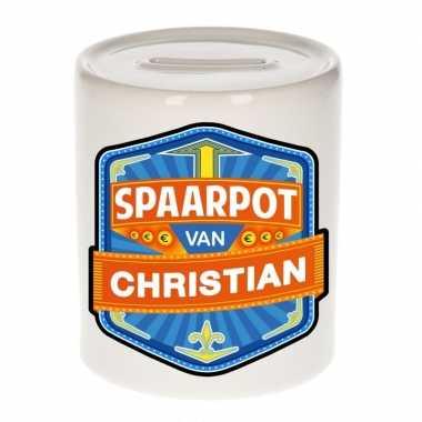 Feest vrolijke christian spaarpotten voor kinderen