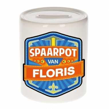Feest vrolijke floris spaarpotten voor kinderen