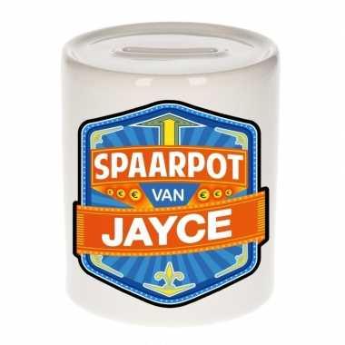 Feest vrolijke jayce spaarpotten voor kinderen