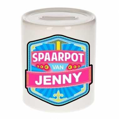 Feest vrolijke jenny spaarpotten voor kinderen