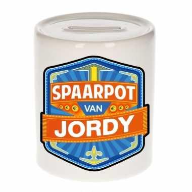 Feest vrolijke jordy spaarpotten voor kinderen