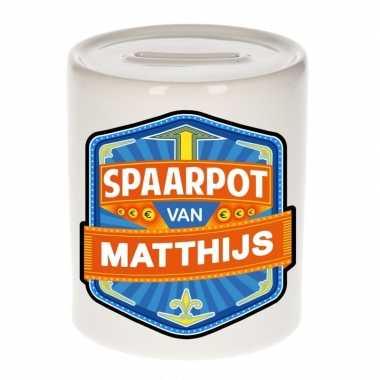Feest vrolijke matthijs spaarpotten voor kinderen