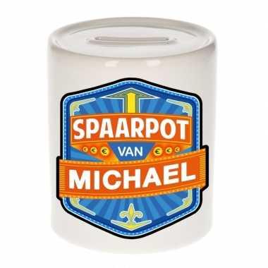 Feest vrolijke michael spaarpotten voor kinderen