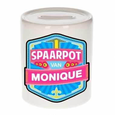 Feest vrolijke monique spaarpotten voor kinderen