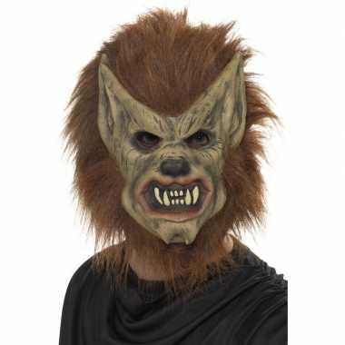 Weerwolf masker van latex