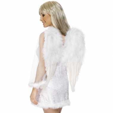 Feest witte engelenvleugels voor dames