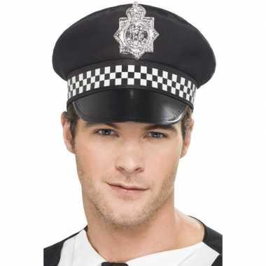 Zwarte britse politiepet voor heren