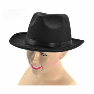 Feest zwarte vilten hoeden