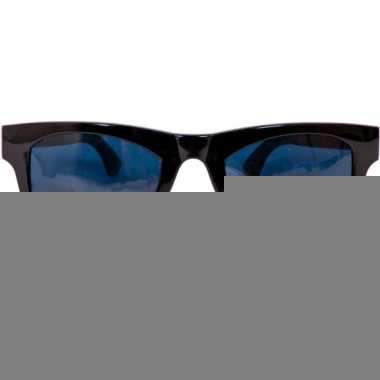 Grote zwarte feest brillen
