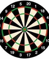100x bierviltjes onderzetters dartbord darten feest thema