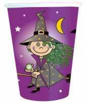 16x papieren bekertjes heksen feest 10145039