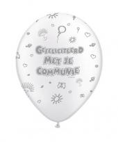 1e communie feest ballonnen