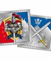 60x ridder themafeest servetten 33 x 33 cm papier