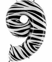 9 jaar versiering cijfer ballon 10062670
