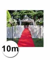 Feest 10 meter rode loper 1 meter breed