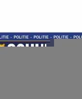 Feest 10 x schuldig stickers voor politie agent kostuum