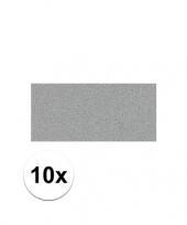 Feest 10x grijze crepla plaat met 20 x 30 x 0 2 cm