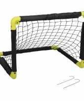 Feest 1x opvouwbaar voetbaldoel 55 cm
