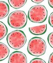 Feest 20x servetten met meloenen 33 cm