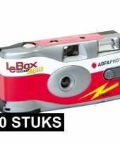 Feest 20x wegwerp cameras met flitser