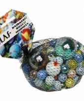Feest 237x gekleurde speelgoed knikkers