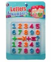 Feest 26 cijfers en tekens met magneet