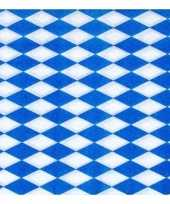 Feest 2x 100 servetten blauw met wit