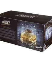 Feest 2x gem whiskey glazen 330 ml