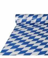 Feest 2x stuks beierse tafelkleden van plastic op rol 20 x 1 meter
