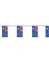 Feest 2x vlaggenlijnen australie 4 meter