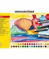 Feest 36x oliepastelkrijt eberhard faber 11mm
