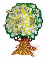 Feest 3d geldboom van karton 10089662