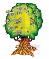 Feest 3d geldboom van karton 10089669