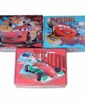Feest 3x disney cars opbergboxen opbergdozen van karton