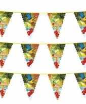 Feest 3x hawaii thema vlaggenlijnen 6 meter