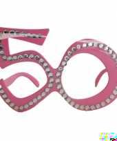 Feest 50 jaar abraham of sara bril