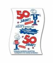 Feest 50 jaar toilet papier man