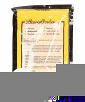 Feest 5x holi kleurpoeder geel