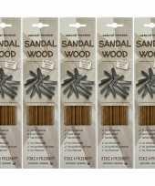 Feest 5x pakje jiri and friends luxe wierook stokjes sandelhout geur