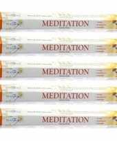 Feest 5x pakje stamford wierook stokjes meditatie