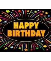Feest 5x verjaardag wenskaart happy birthday
