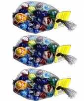 Feest 69x knikkers bonken in verschillende formaten en kleuren