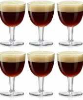 Feest 6x abdij abbey bierglazen speciaalbier 410 ml