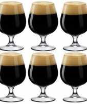 Feest 6x bierglazen bierbokalen speciaalbier 530 ml