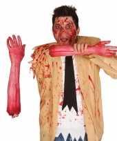 Feest afgehakte arm met bloed 44 cm