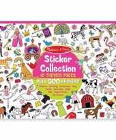 Feest agenda stickers 700x voor meisjes