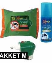 Feest anti insecten pakket medium